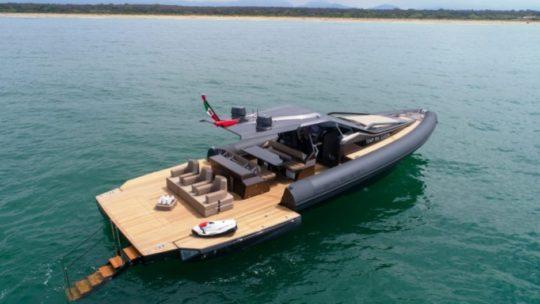 Anvera 48: Tamamen İtalya'da yapılan yüksek teknolojili tekne